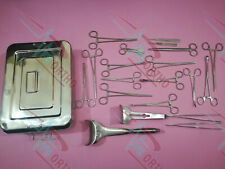 Caesarian Section Set 25 Pcs Surgical Instruments Germany Stainless steel