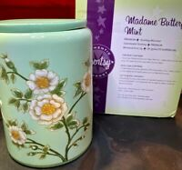 "Authentic Scentsy ""Madame Butterfly Mint"" Lamp Wax Warmer"