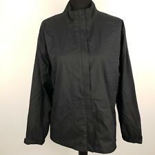 Nike GOLF Womens Jacket Windbreaker Coat XL Black Nylon Storm Fit Golfing