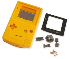 Gameboy Game Boy Color GBC Crystal Clear Shell Case Housing W Screen & Tools UK