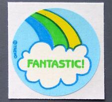 Vintage TREND Stinky Stickers RAINBOW matte Scratch-N-Sniff sticker