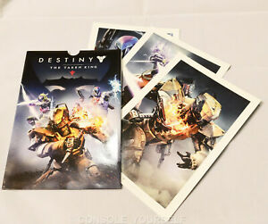 Destiny The Taken King Set of 3 Art Cards (Game Not Included)