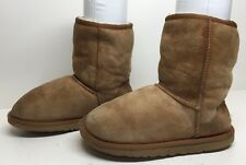 #M WOMENS UGG AUSTRALIA WINTER SUEDE BROWN BOOTS SIZE 5