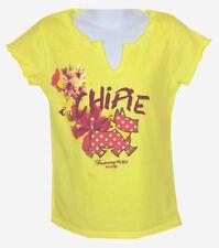 CHIPIE   Hochwertiges Mädchen T-Shirt   sommerliches hell-gelb   Gr. 5J * 104