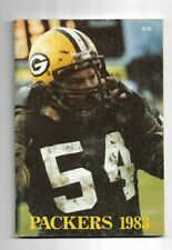 1983 Green Bay Packers Football Media Guide---McCarren   VG