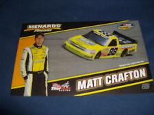 2010 MATT CRAFTON #88 IDEAL DOOR NASCAR POSTCARD