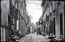 CANADA~1908 QUEBEC CITY ~ Little Champlain Street ~ Lot of Children in Alley