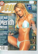 People Adult mag 2005 Meriah Nelson plus many celebs (see cover scan)    M25