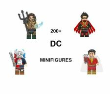 Lego DC Minifigures Blocks Justice League Batman Superman Joker Aquaman Robin