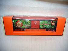 Scarse 2012 O Guage 6-29972 Lionel Employee Christmas Box Car MINT