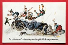 AK 1940 Automobil Unfall Typen    ( 5486