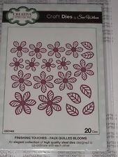 "CREATIVE EXPRESSIONS ""FAUX QUILLED BLOOMS"" CED1402 (20 PC. SET) CARDS  SCRAPBOOK"