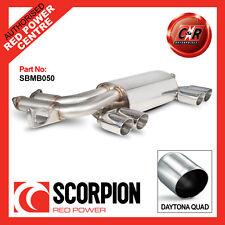 Scorpion BMW E46 M3 Exhaust Rear Silencer Quad Tips