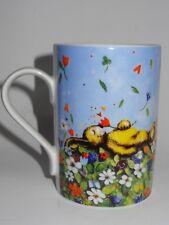 Tee-Tasse Kaffee-Becher Hase Osterhase Blumenwiese Hochzeitstag Ostern Ich liebe