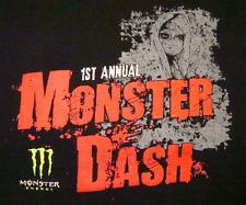 1st Annual Monster Dash T-Shirt (M) Monster Energy Drink