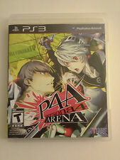 P4A Persona 4 Arena PS3 Sony PlayStation 3