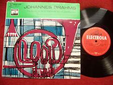 Johannes Brahms - Trio Es-dur op 40      Electrola  10 inch
