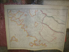 India The north west provincesand Oude DISPATCH ATLAS circa 1863- Framed 20 more