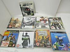 9 verschiedene Play Station 3 Spiele