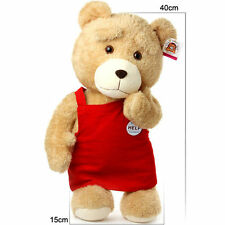 16'' New TED Cute Soft Teddy Bear Stuffed Plush Christmas Toy Birthday Xmas Gift