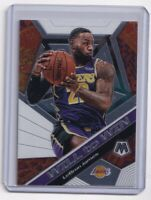 2019-20 Panini Mosaic Will to Win SP Insert Lebron James #7 Lakers