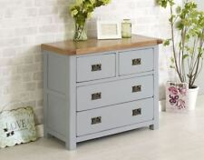 Oak Modern 60cm-80cm Height Chests of Drawers