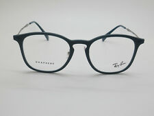 NEW Authentic Ray Ban RB 8954 8030 Graphene Matte Blue 50mm Rx Eyeglasses