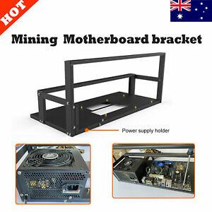 Mining Case Rack Motherboard Bracket Open Mining Rig Frame for 6-8 GPU Rack