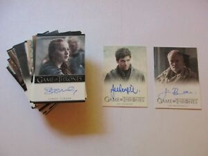 Game of Thrones Season 7 Complete Master Set (No Parallels) - Full Series Seven