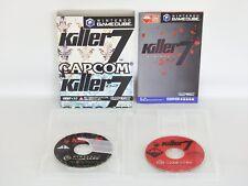 KILLER 7 GOOD Condition Game Cube Nintendo Work for NTSC-J Japan Capcom Game gc