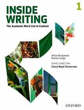 *BRAND NEW* INSIDE WRITING Level 1 : THE ACADEMIC WORD LIST IN CONTEXT