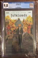 FOLKLORDS #1 CGC 9.8 Cover A Matt Kindt Boom First Print First Appearance