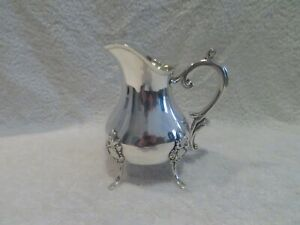 Gorgeous 20th c french sterling silver creamer rococo st 437gr rby