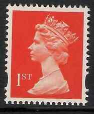 GB 1993- sg1666 1st Bright Orange Red photo. phosphorised paper perf. 15x14 MNH