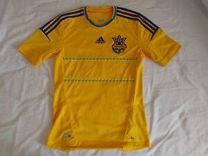 Ukraine Soccer Jersey 2013 Home Small