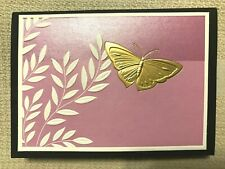 12 Butterfly Note Cards New Very Pretty Monarch-Purple Hairstreak /& More