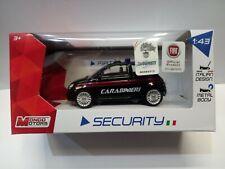 FIAT NUOVA 500  CARABINIERI   scala 1:43 Mondo Motors MODELLINO SECURITY