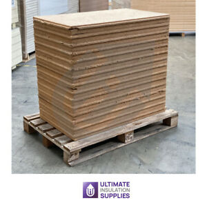 60mm PAVATEX Pavadentro 1010mm x 590mm ( Pallet of 15 Boards ) Wood Fibre