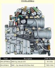 JF506E-JF506A-09A VALVE BODY-VOLTZWAGON JETTA-5 SP.AUTO-CLEAN-TESTED&SOLENOIDS!