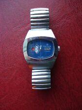 Rare Hanowa Jump Hour hand wind Men's Watch Swiss Made