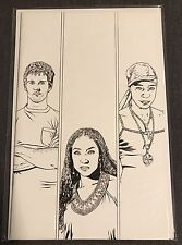 True Blood #6 Cover C Corroney Sketch 1:10 Incentive IDW Publishing Comic RARE