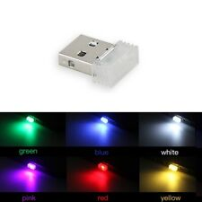 Mini USB LED Car Auto Interior Light Colorful Atmosphere Ambient Decoration Lamp