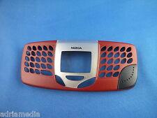 ORIGINALE Nokia 5510 a COVER FRONTCOVER Superiore Custodia Rosso Red Nuovo Custodia Cellulare