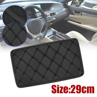 Universal Car Center Console Armrest Cushion Pad Cover PU Leather Accessories