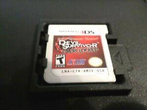 Shin Megami Tensei - Devil Survivor Overclocked (Nintendo 3ds) Atlus game Rare!!