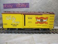 USA Train G Scale White Pass & Yukon Lumber Boxcar #1086
