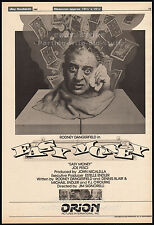 EASY MONEY__Original 1982 Trade AD promo / poster__RODNEY DANGERFIELD__JOE PESCI