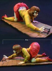 80mm Resin Figure Model Kit Sexy Girl Female Velma Unpainted Unassambled