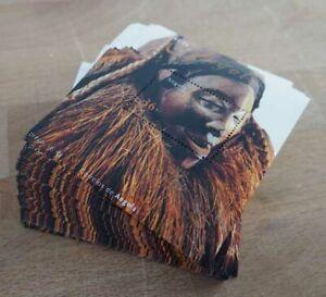 2002 Angola; 200 Blocks Masken, postfrisch/MNH, Bl. 99, ME 1100,-