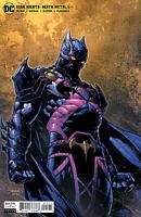 DC COMICS DARK NIGHTS DEATH METAL #5 COVER B DAVID FINCH MARTIAN MANHUNTER VAR